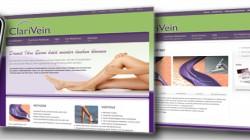 """Neue Produktwebseite """"ClariVein"""""""