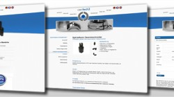 Re-Design Webseite der Firma contech3