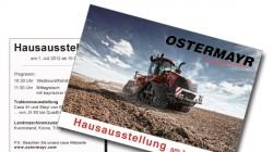 Postkarte – Einladung zur Hausmesse