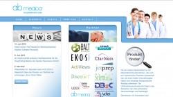 Webseite Abmedica Düsseldorf