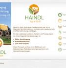Haindl Agrar Webvisitenkarte