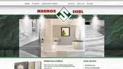 Webseite Marmor Seidl – Steinmetz, Fliesenhandel