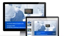 Powerpoint Präsentationsvorlage PULSION Medical Systems