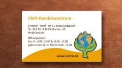 Anezige Fair Handelszentrum  – Solidarität in der einen Welt e.V.
