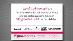 Zeitungsanzeige Figaroexpress – Friseurfachhandel Landshut