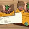 Einladungspostkarte und DINA3 Poster FAIR Handelsfest