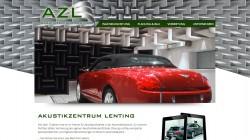 Webseite Akustikzentrum Lenting