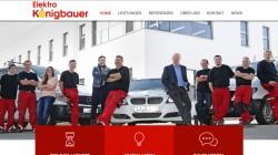 Webseite Elektro Königbauer Ergoldsbach