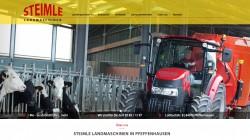 Homepage für Steimle Landmaschinen