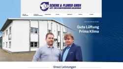 Re-Design Webseite Schenk & Plomer – Heizung   Klima   Lüftung Altheim