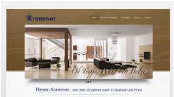 Re-Design Webseite Fliesen Krammer