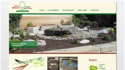 Re-Design Webseite – Winter Gartenbau, Rohr