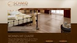 Re-Design Webseite Schreinerei Schmid