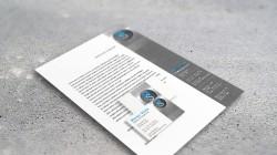 Visitenkarten + Briefpapier Metallbau Landshut