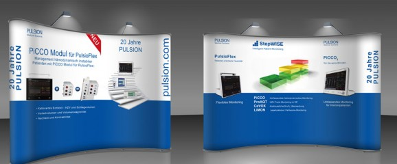 Messestand Critical Care PULSION