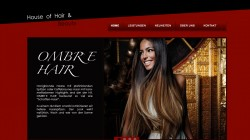 Webseite House of Hair and Beauty