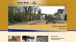 Webseite Abbruch Franz Hoch