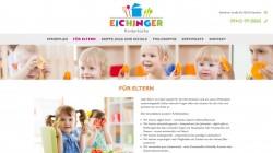 Eichinger Kinderküche Webdesign und Logo