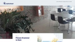 Fliesen Krammer – Re-Design Fliesenleger Webseite