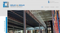 Raum-im-Raum One-page Webseite