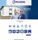 Re-Design Webseite Schenk & Plomer – Heizung | Klima | Lüftung Altheim